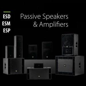 ESD Series___ ESM Stage Monitors___ESP Amplifier